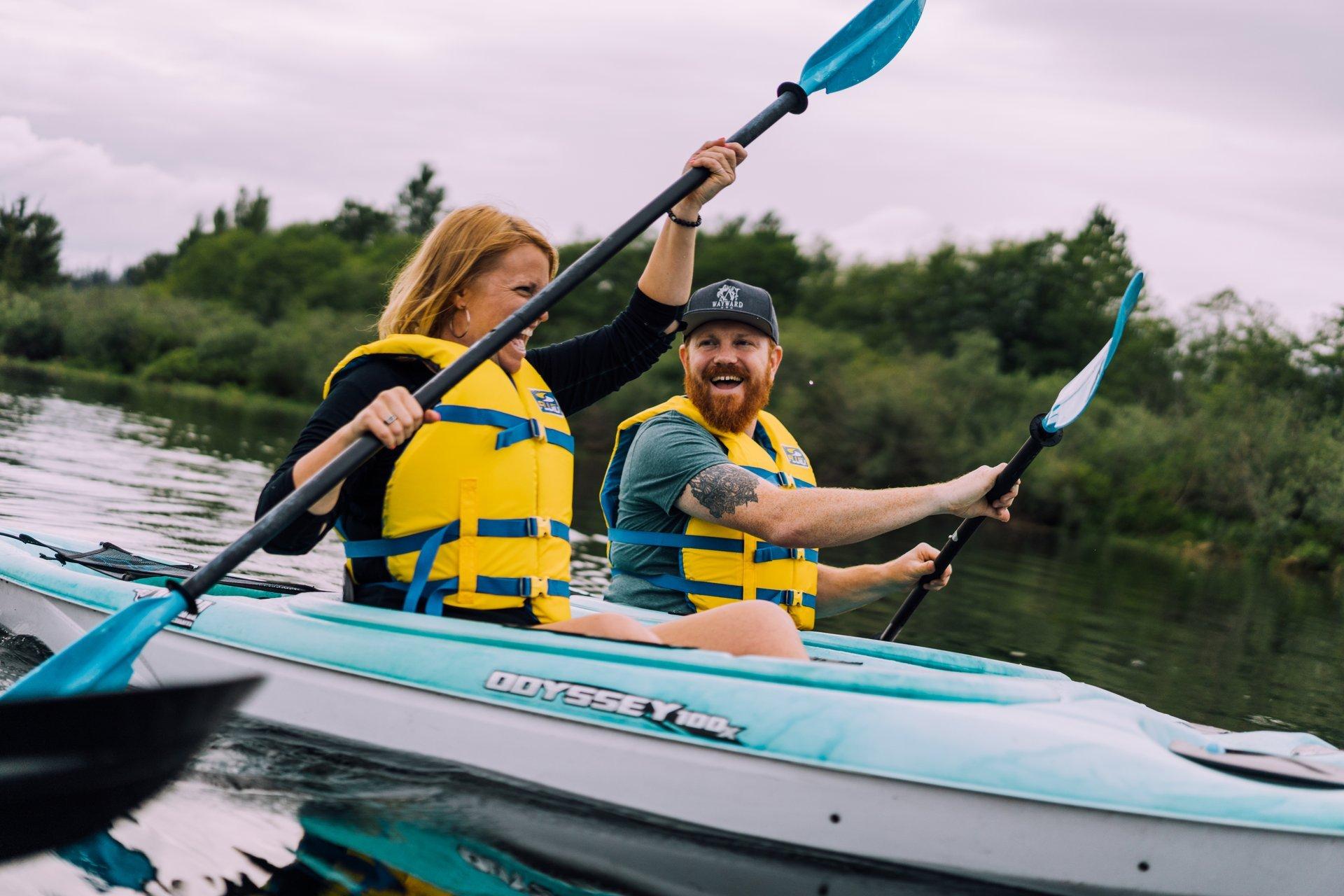 Joy Riders kayaking
